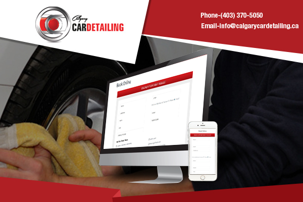 Online Booking for Car Detailing