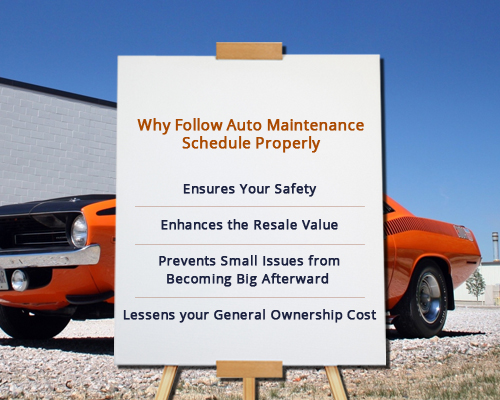 Auto Maintenance Schedule