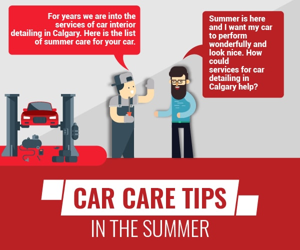 Car Care Tips in the Summer