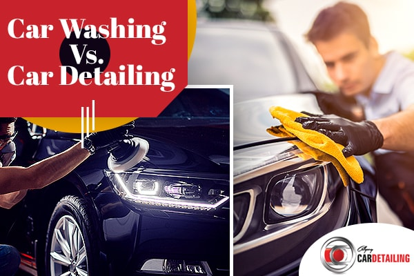 Car Washing vs. Auto Detailing