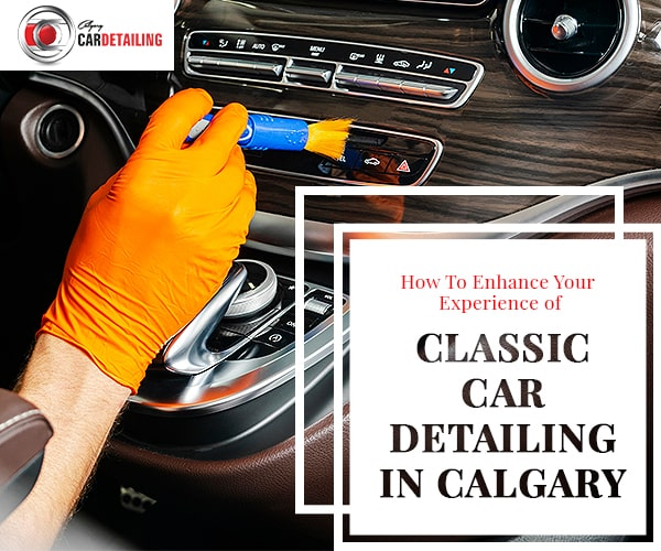 Classic Car Detailing in Calgary