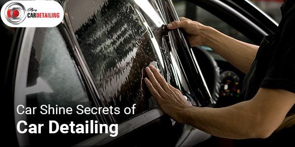 Secrets of car detailing calgary