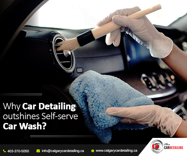 Car Interior Detailing in Calgary