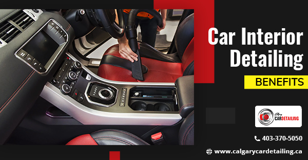 Car Interior Detailing Service in Calgary