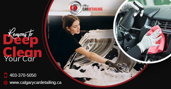 car detailing Calgary company
