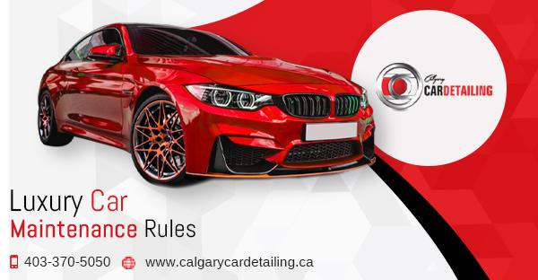 Calgary car detailing services.