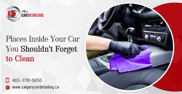 car interior detailing Calgary