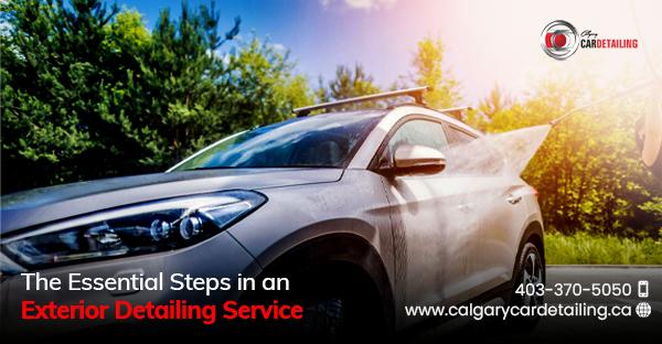 Professional Exterior Car Detailing Calgary Service